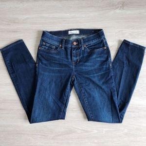 """Madewell """"Skinny Skinny"""" Dark Wash Jeans Size 25"""